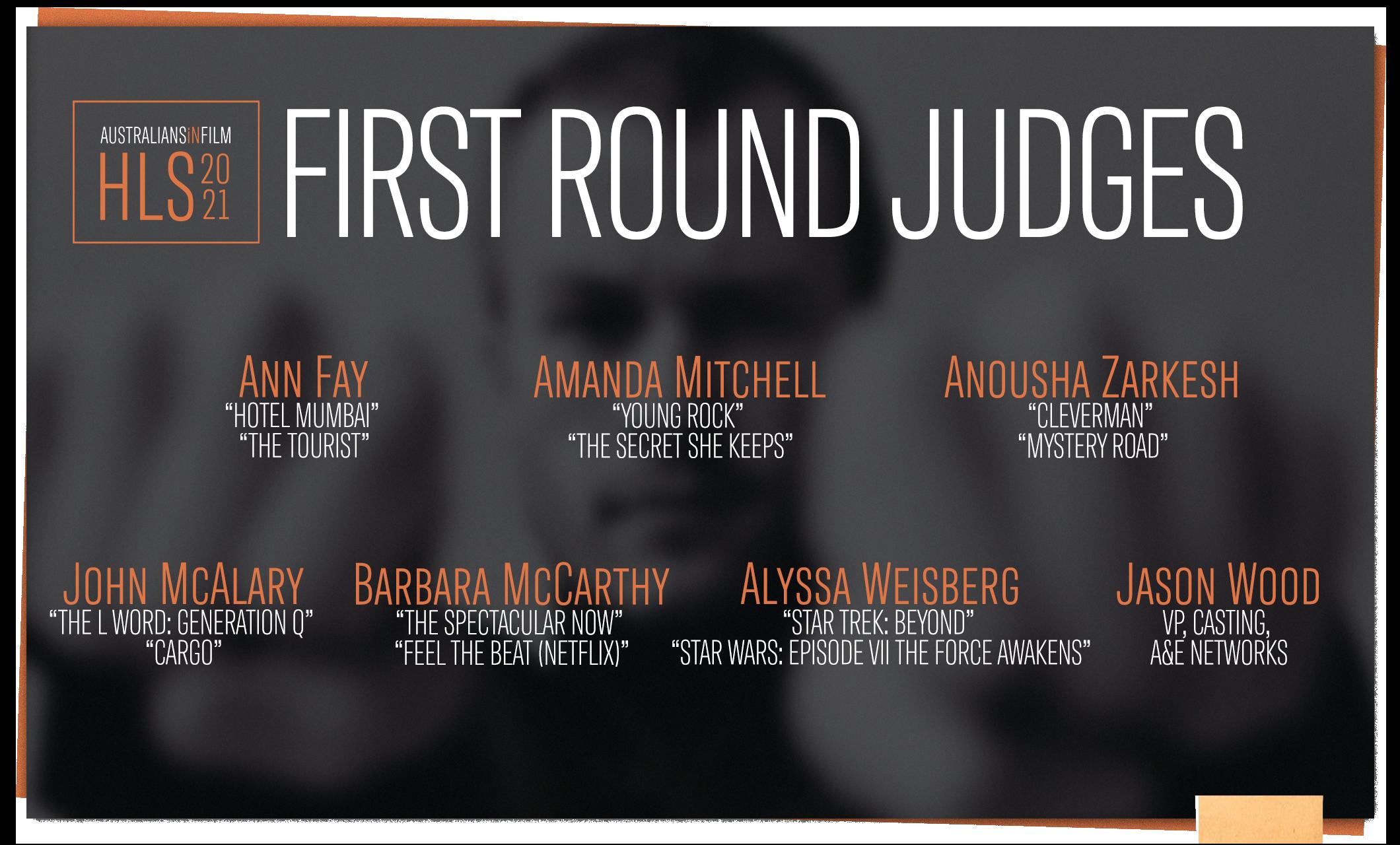 HLS First Round Judges Slide